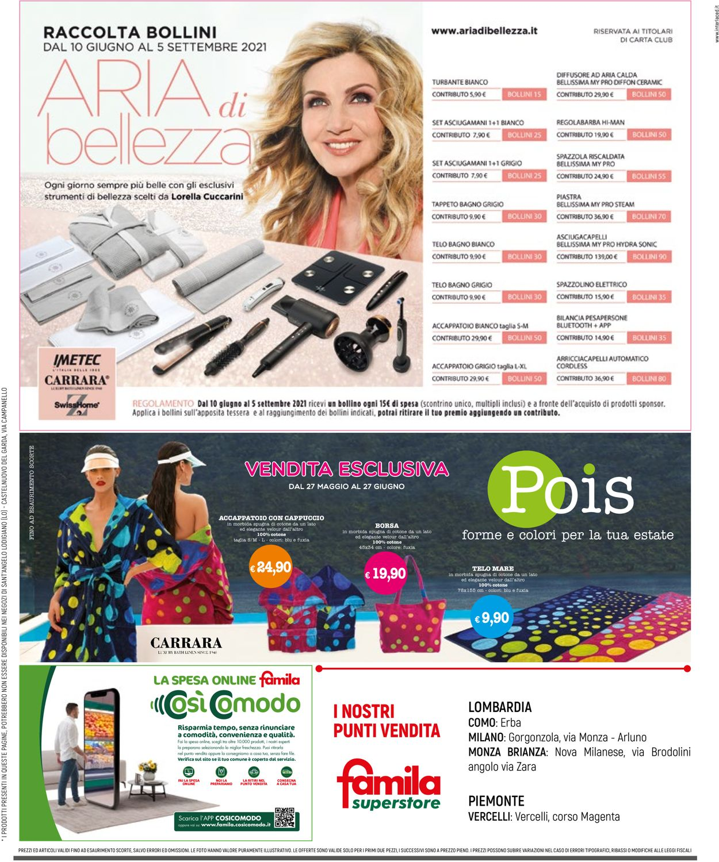 Volantino Famila - Offerte 10/06-23/06/2021 (Pagina 32)