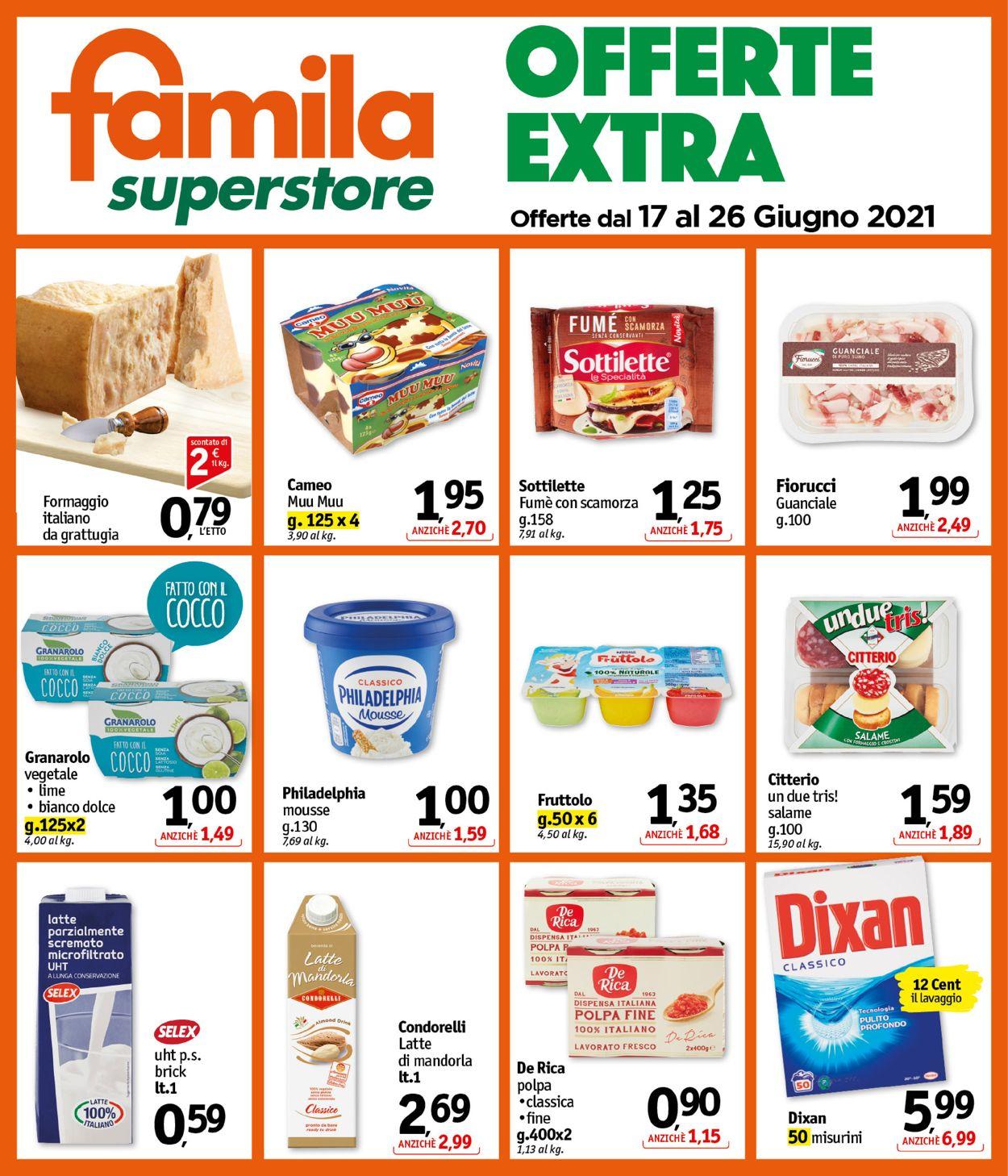 Volantino Famila - Offerte 17/06-26/06/2021 (Pagina 25)