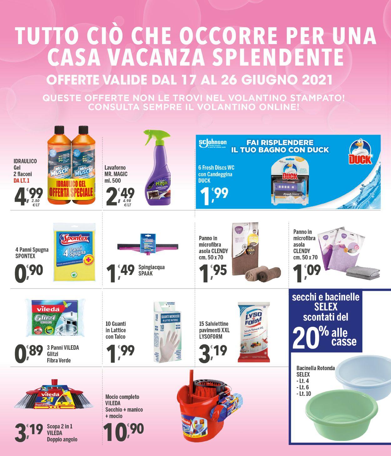 Volantino Famila - Offerte 17/06-26/06/2021 (Pagina 26)