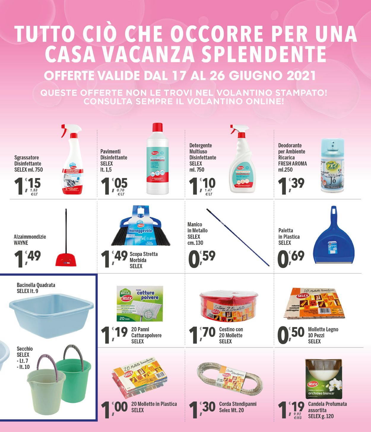 Volantino Famila - Offerte 17/06-26/06/2021 (Pagina 27)