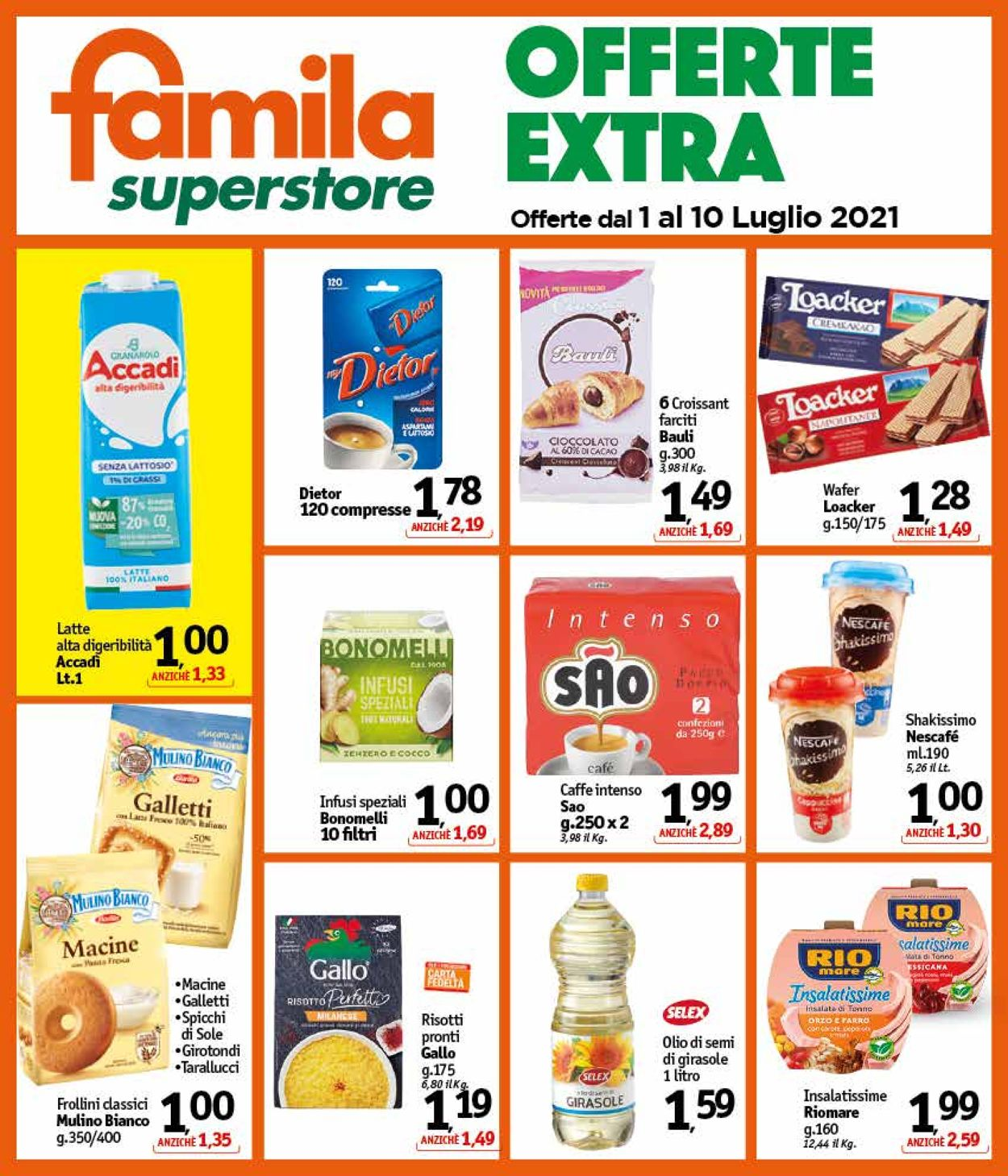 Volantino Famila - Offerte 01/07-10/07/2021 (Pagina 25)