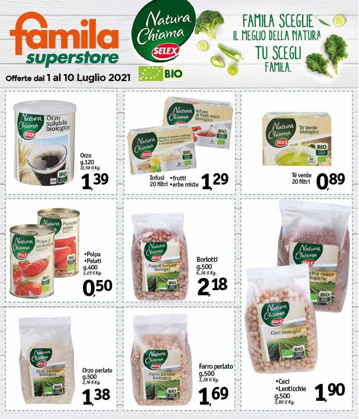 Volantino Famila - Offerte 01/07-10/07/2021 (Pagina 27)