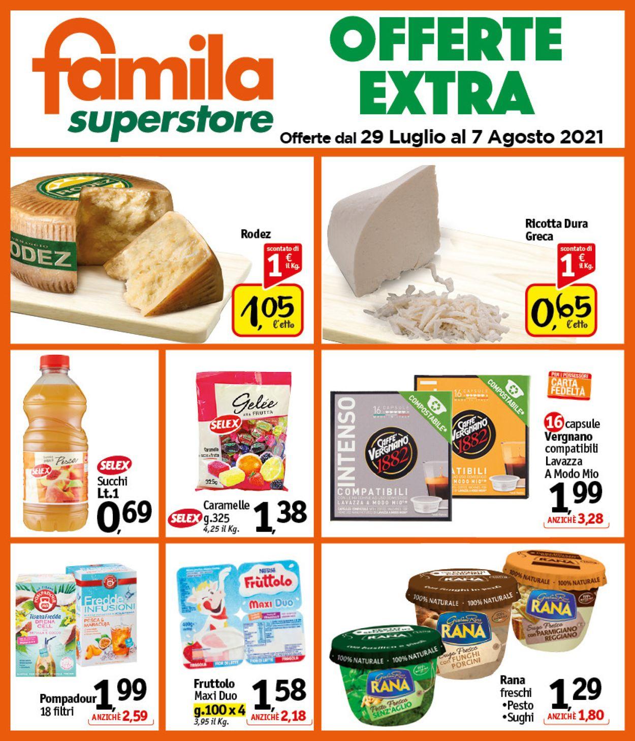 Volantino Famila - Offerte 29/07-07/08/2021 (Pagina 24)