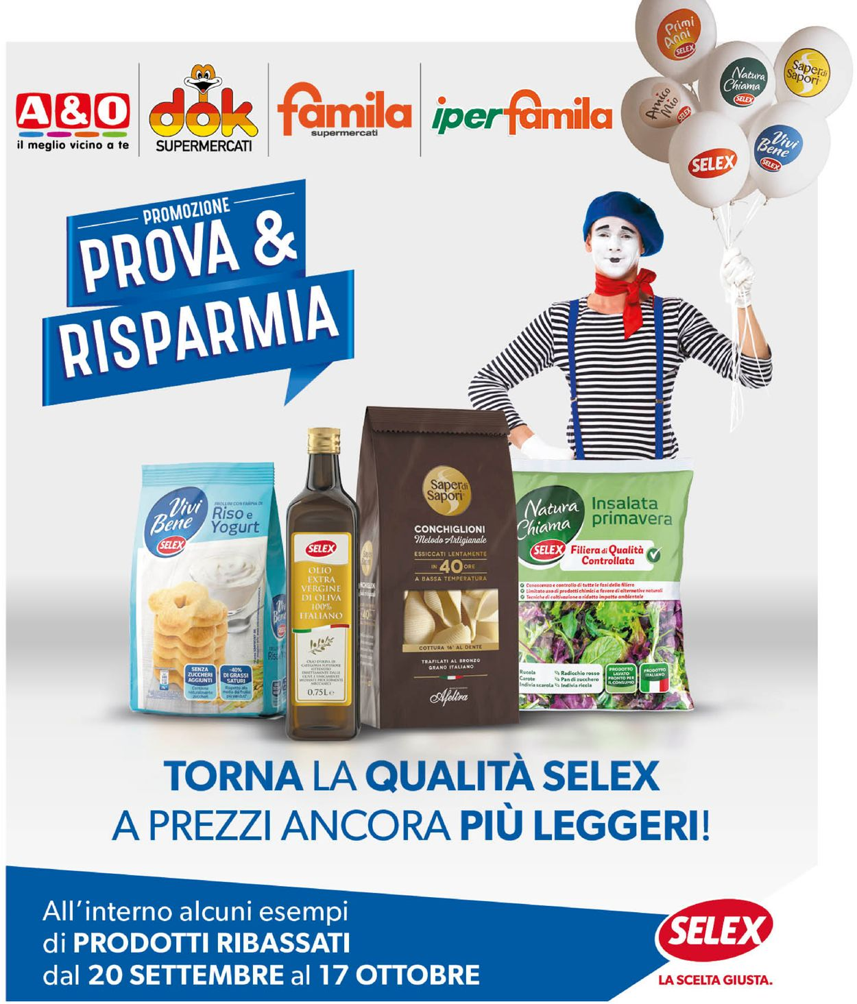 Volantino Famila - Offerte 20/09-17/10/2021