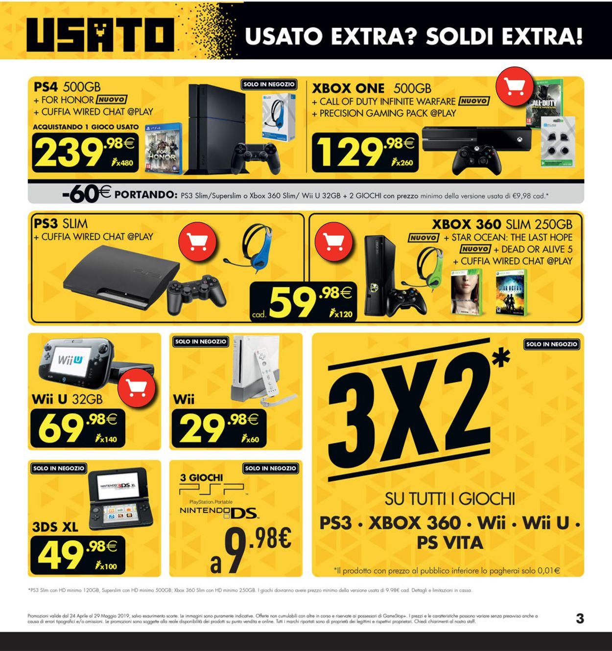 Volantino Gamestop - Offerte 24/04-29/05/2019 (Pagina 3)