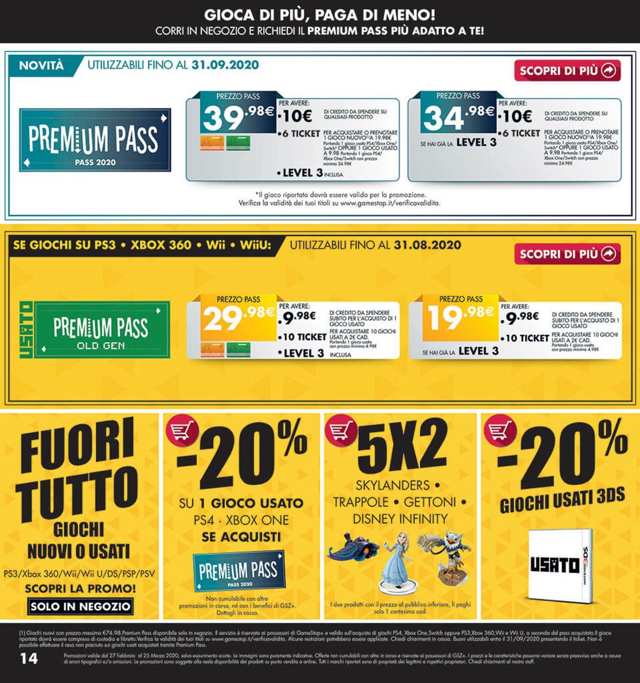 Volantino Gamestop - Offerte 27/02-25/03/2020 (Pagina 14)