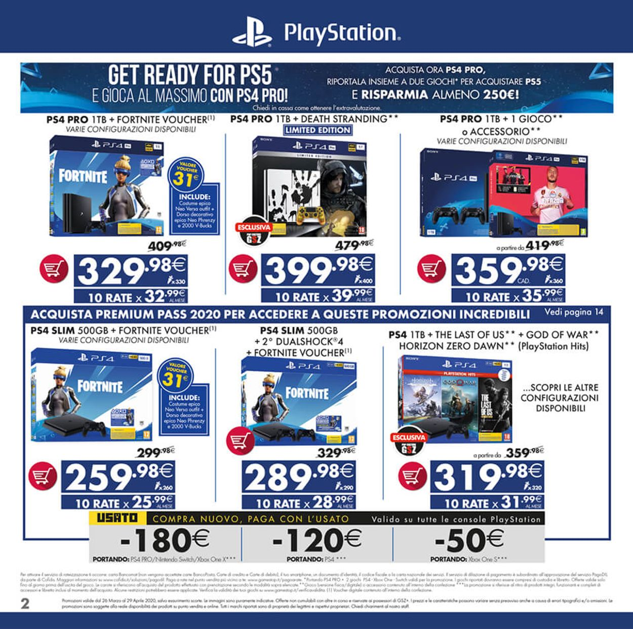 Volantino Gamestop - Offerte 26/03-29/04/2020 (Pagina 2)