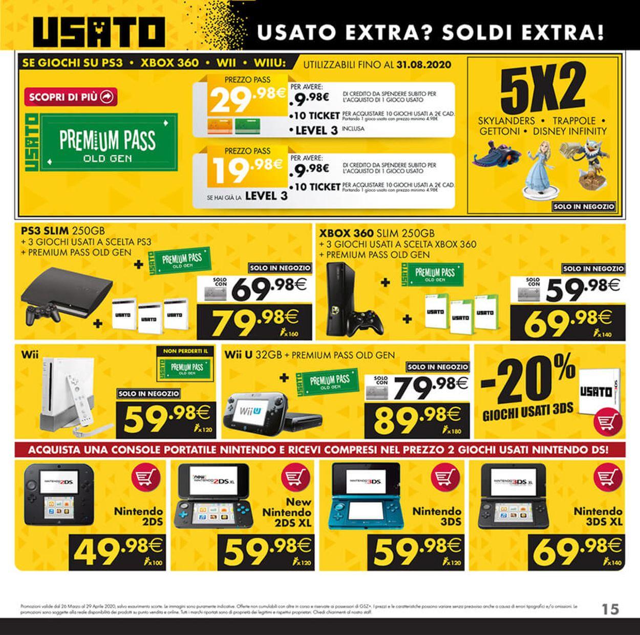 Volantino Gamestop - Offerte 26/03-29/04/2020 (Pagina 15)