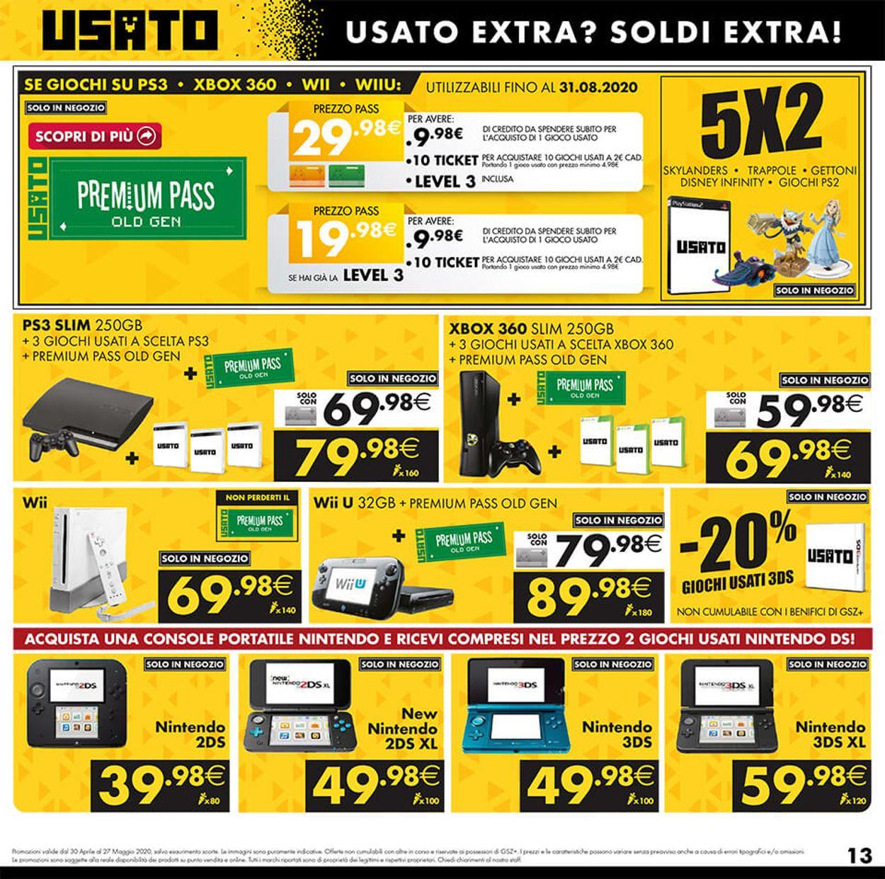Volantino Gamestop - Offerte 30/04-27/05/2020 (Pagina 13)