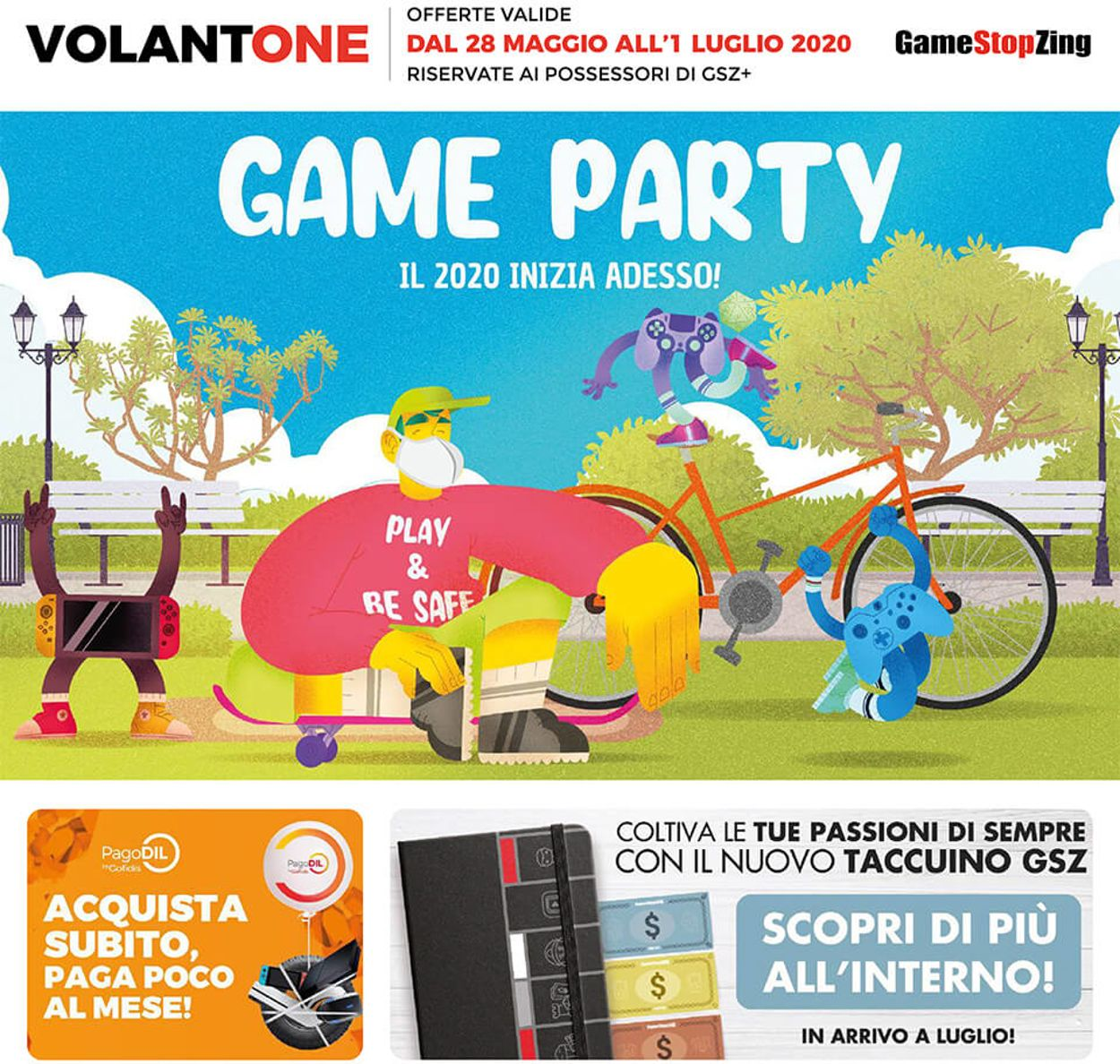 Volantino Gamestop - Offerte 28/05-01/07/2020