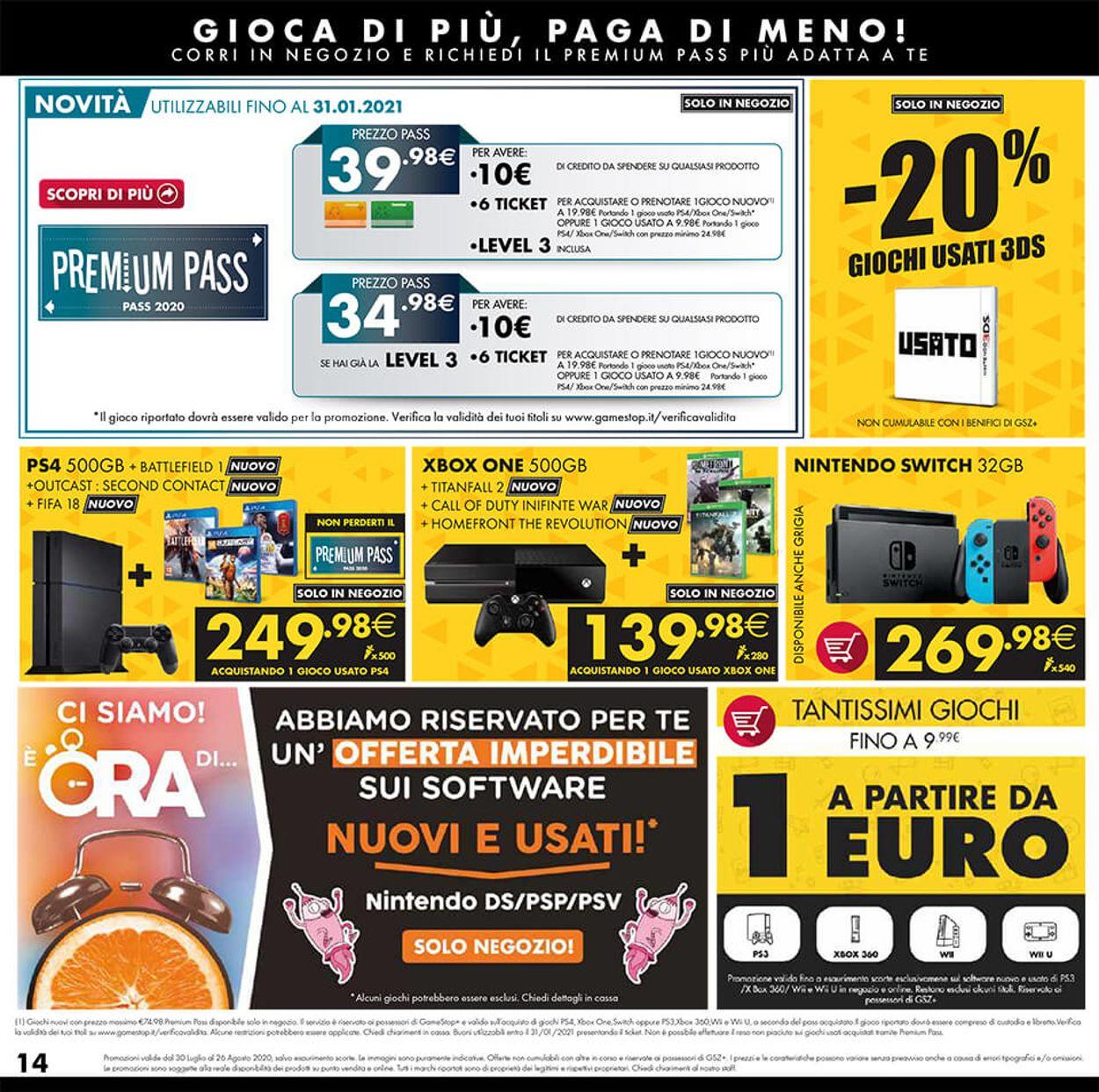 Volantino Gamestop - Offerte 25/07-28/08/2020 (Pagina 14)
