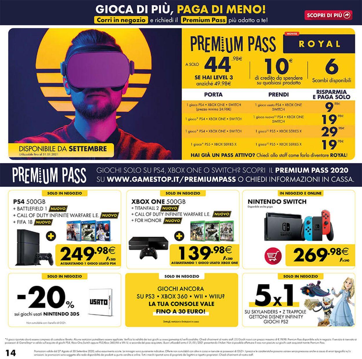 Volantino Gamestop - Offerte 27/08-30/09/2020 (Pagina 14)