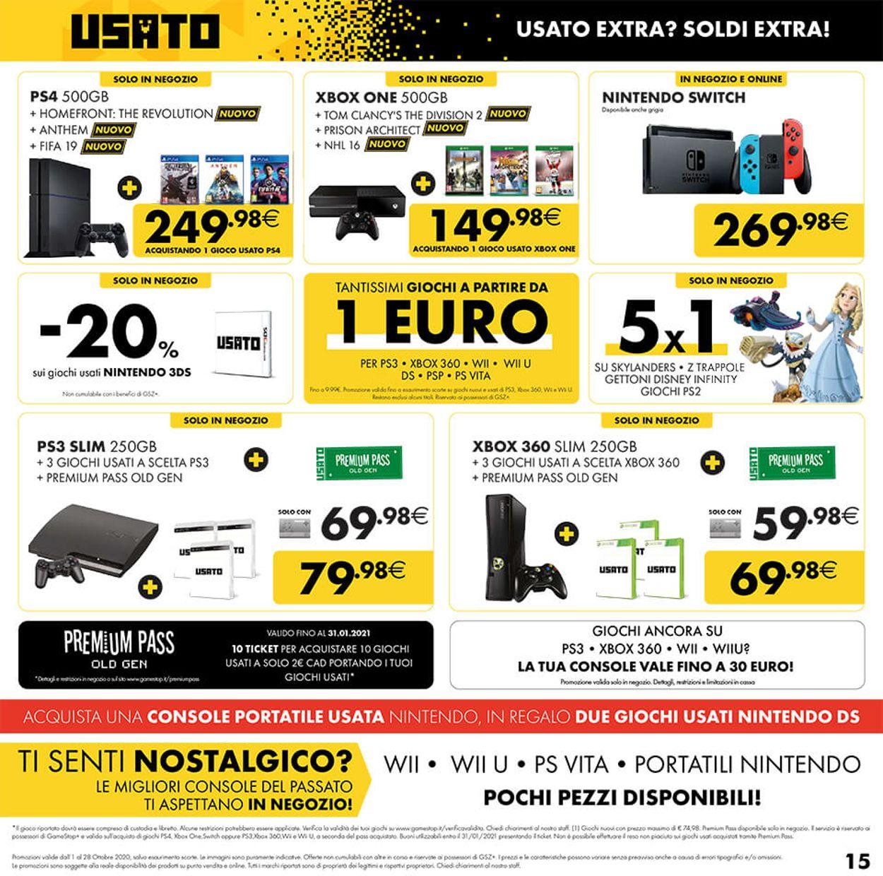 Volantino Gamestop - Offerte 01/10-28/10/2020 (Pagina 15)