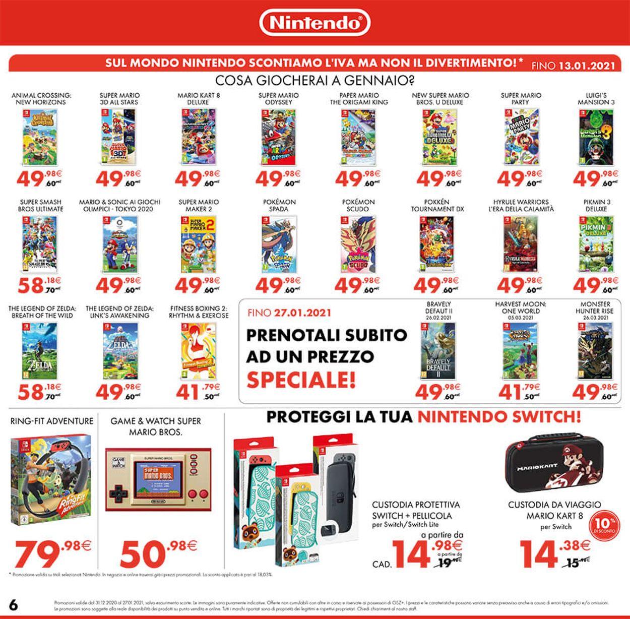 Volantino Gamestop - Offerte 31/12-18/02/2021 (Pagina 6)