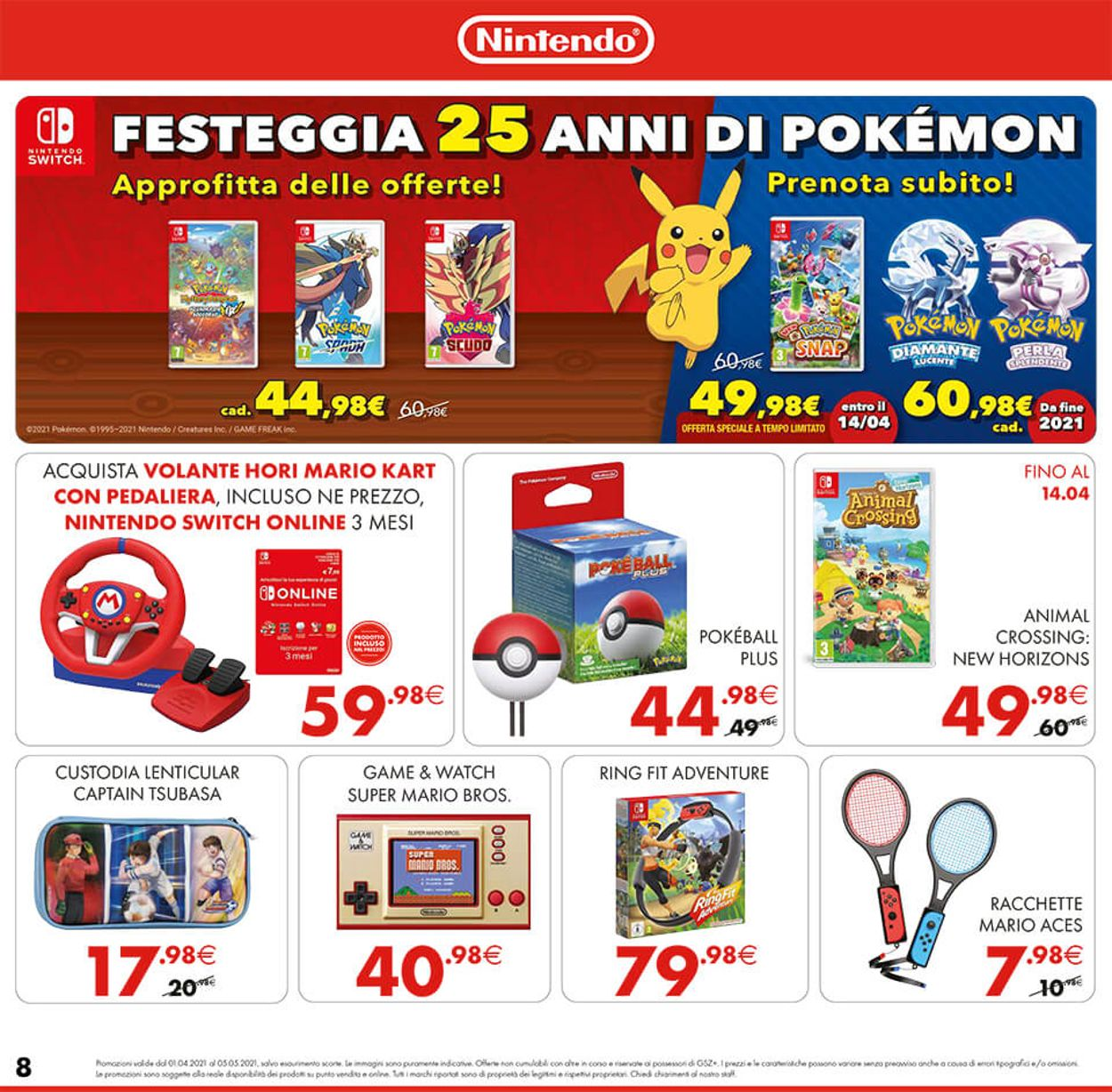 Volantino Gamestop - Offerte 01/04-05/05/2021 (Pagina 8)