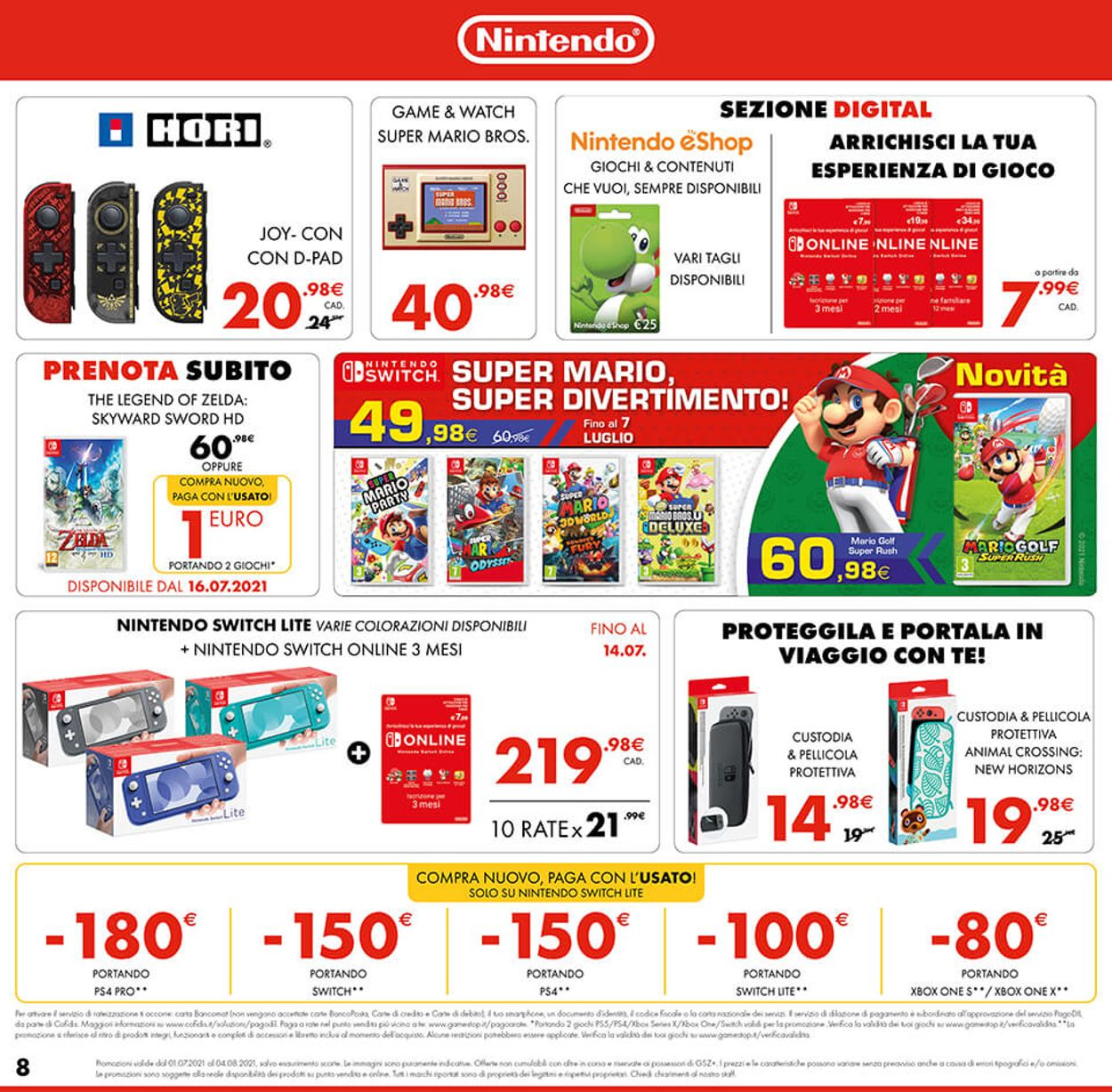 Volantino Gamestop - Offerte 01/07-04/08/2021 (Pagina 8)