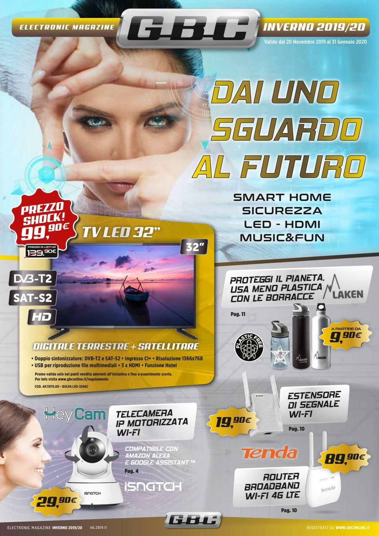 Volantino GBC - Offerte 20/11-31/01/2020