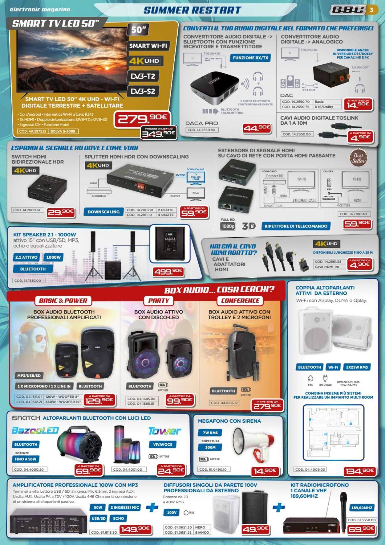Volantino GBC - Offerte 01/07-31/08/2020 (Pagina 3)