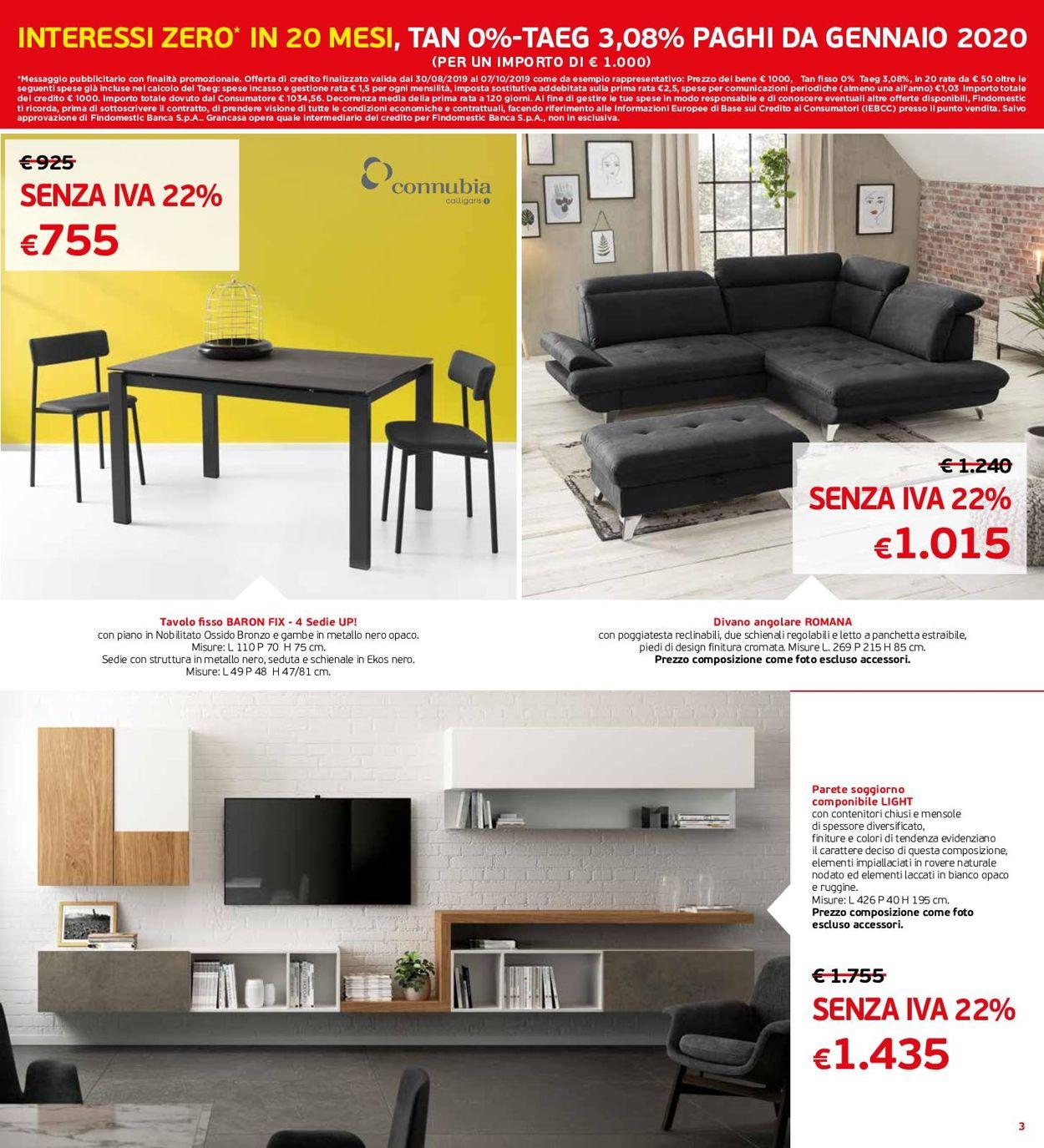 Volantino Grancasa - Offerte 28/08-22/09/2019 (Pagina 3)
