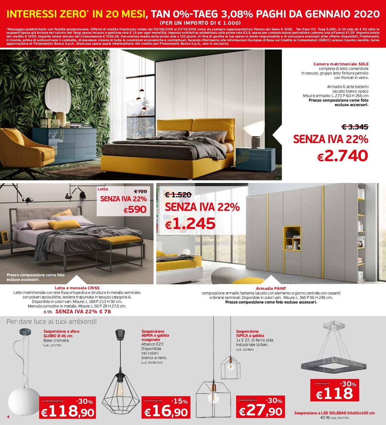 Volantino Grancasa - Offerte 28/08-22/09/2019 (Pagina 4)