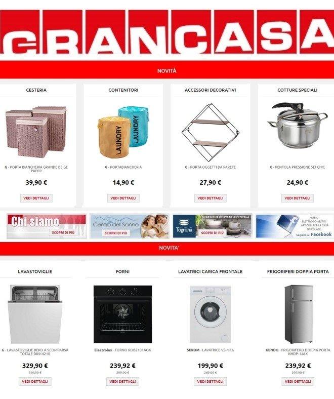 Volantino Grancasa - Offerte 05/11-12/11/2019
