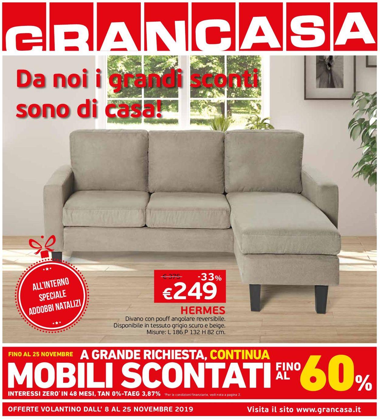 Volantino Grancasa - Offerte 08/11-25/11/2019