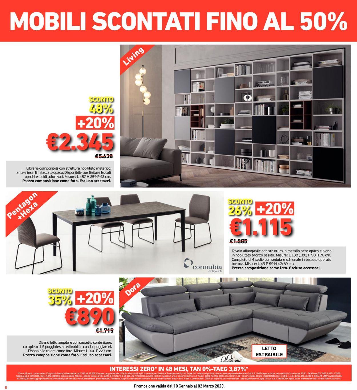 Volantino Grancasa - Offerte 04/01-03/02/2020 (Pagina 8)