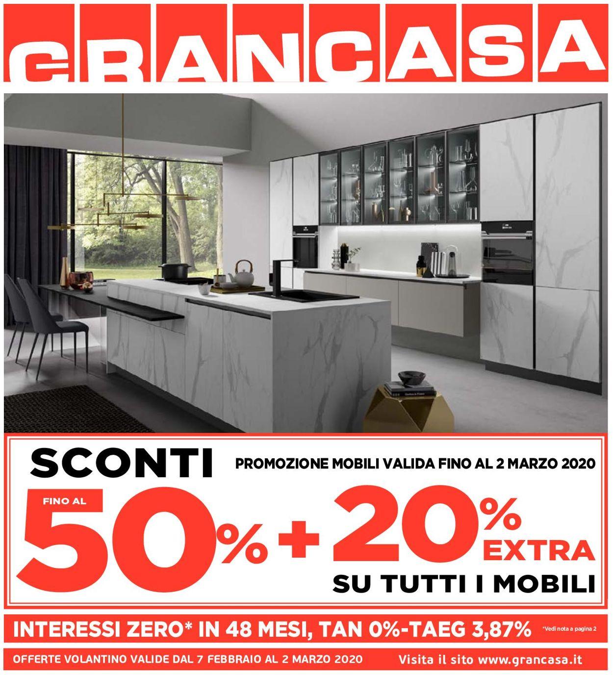 Volantino Grancasa - Offerte 07/02-02/03/2020