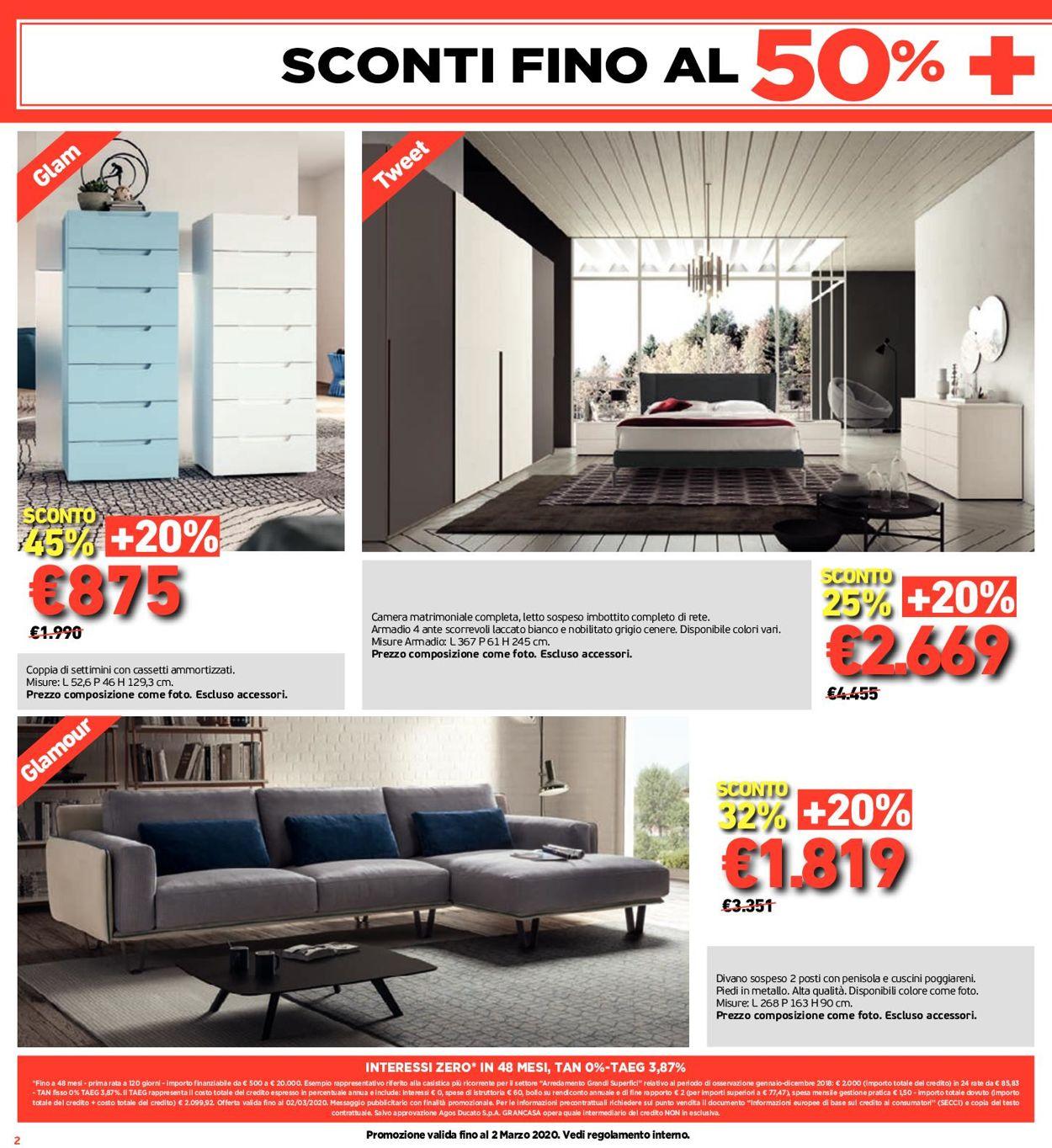 Volantino Grancasa - Offerte 21/02-23/02/2020 (Pagina 2)