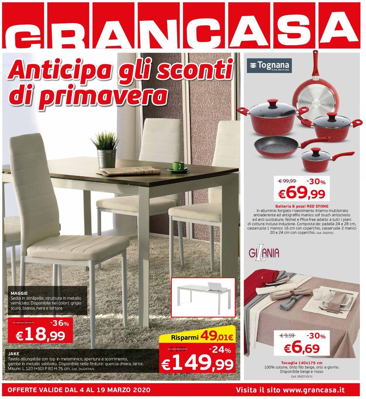 Volantino Grancasa - Offerte 04/03-19/03/2020