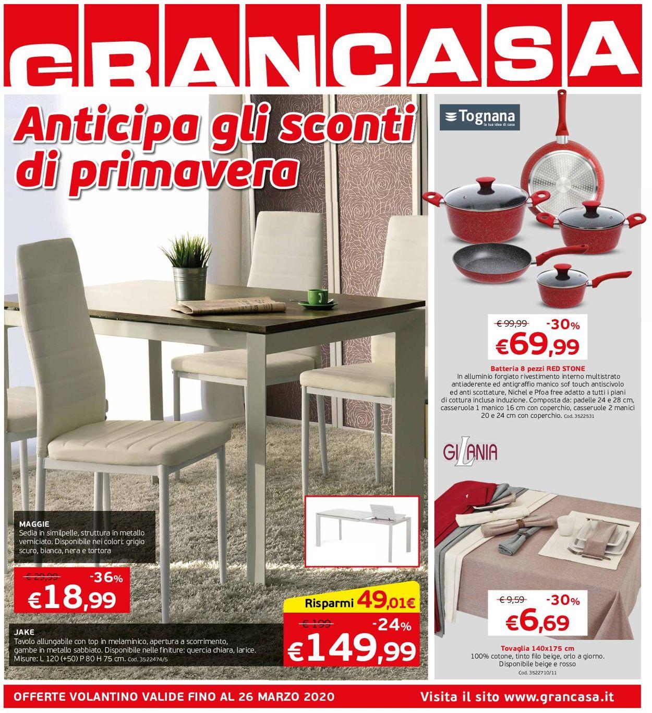 Volantino Grancasa - Offerte 04/03-26/03/2020