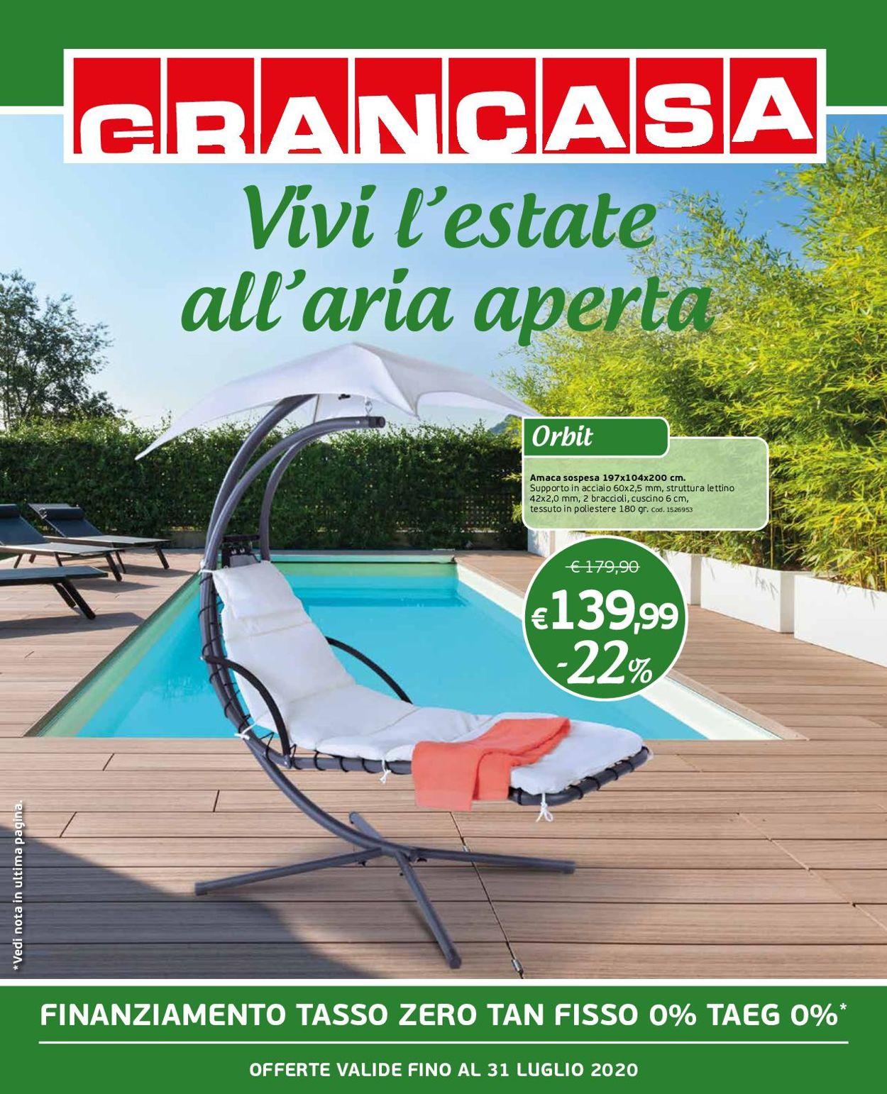 Volantino Grancasa - Offerte 10/07-31/07/2020