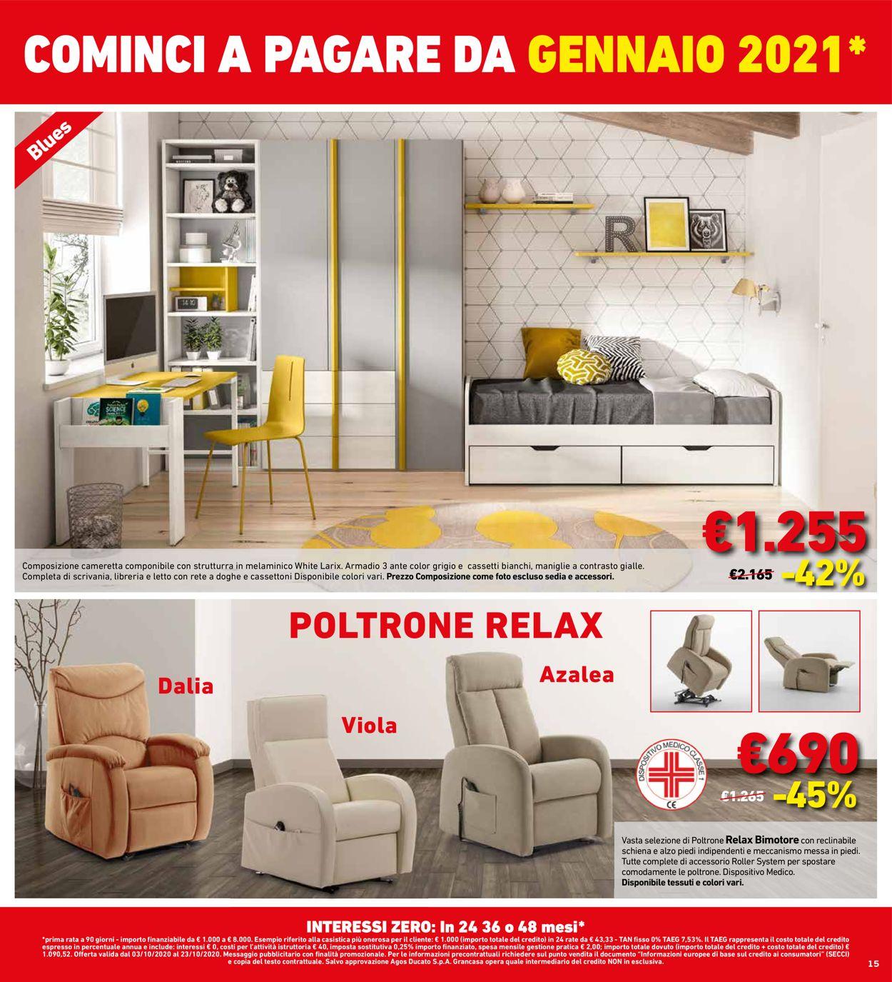 Volantino Grancasa - Offerte 03/10-23/10/2020 (Pagina 15)