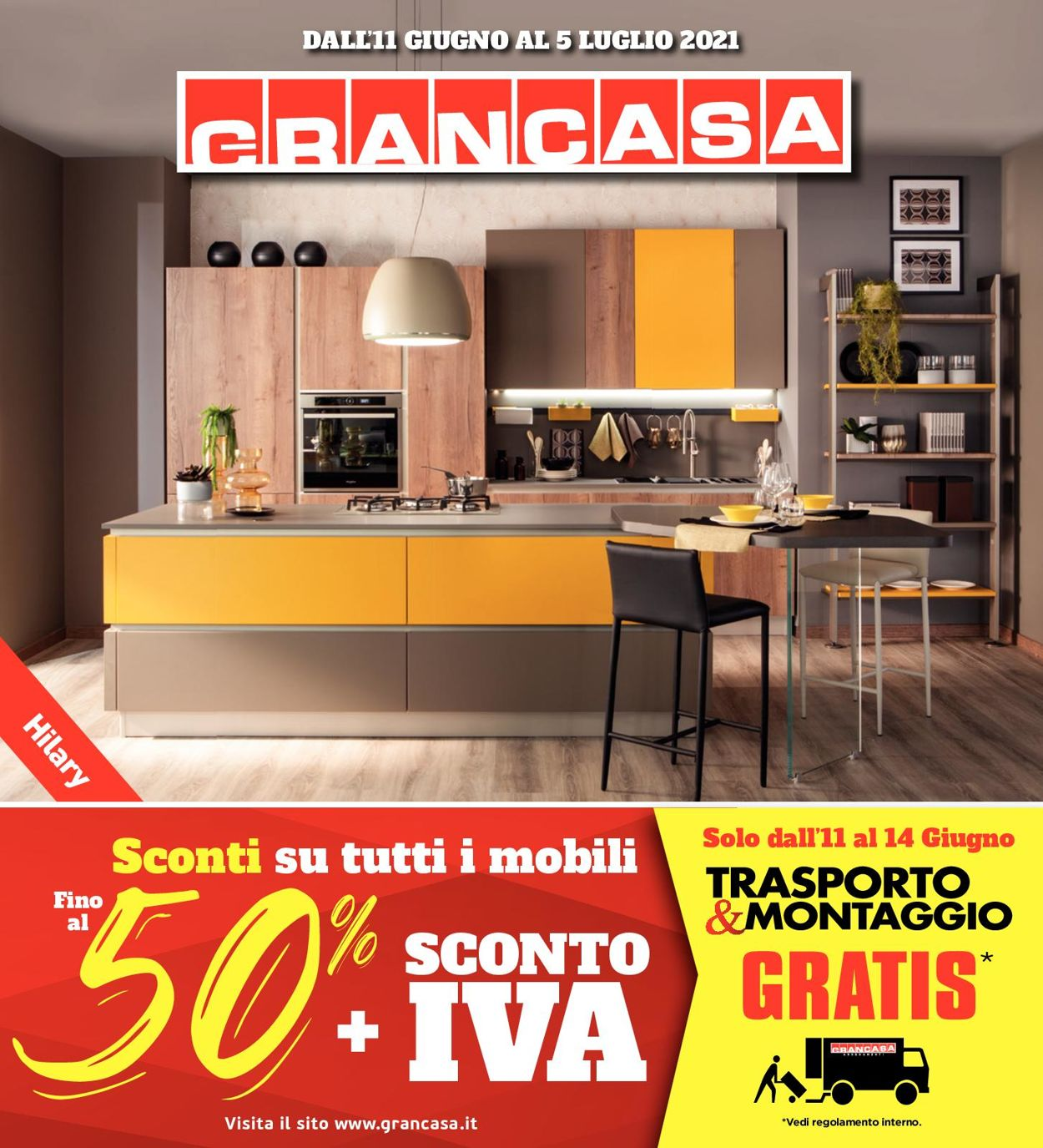 Volantino Grancasa - Offerte 11/06-05/07/2021