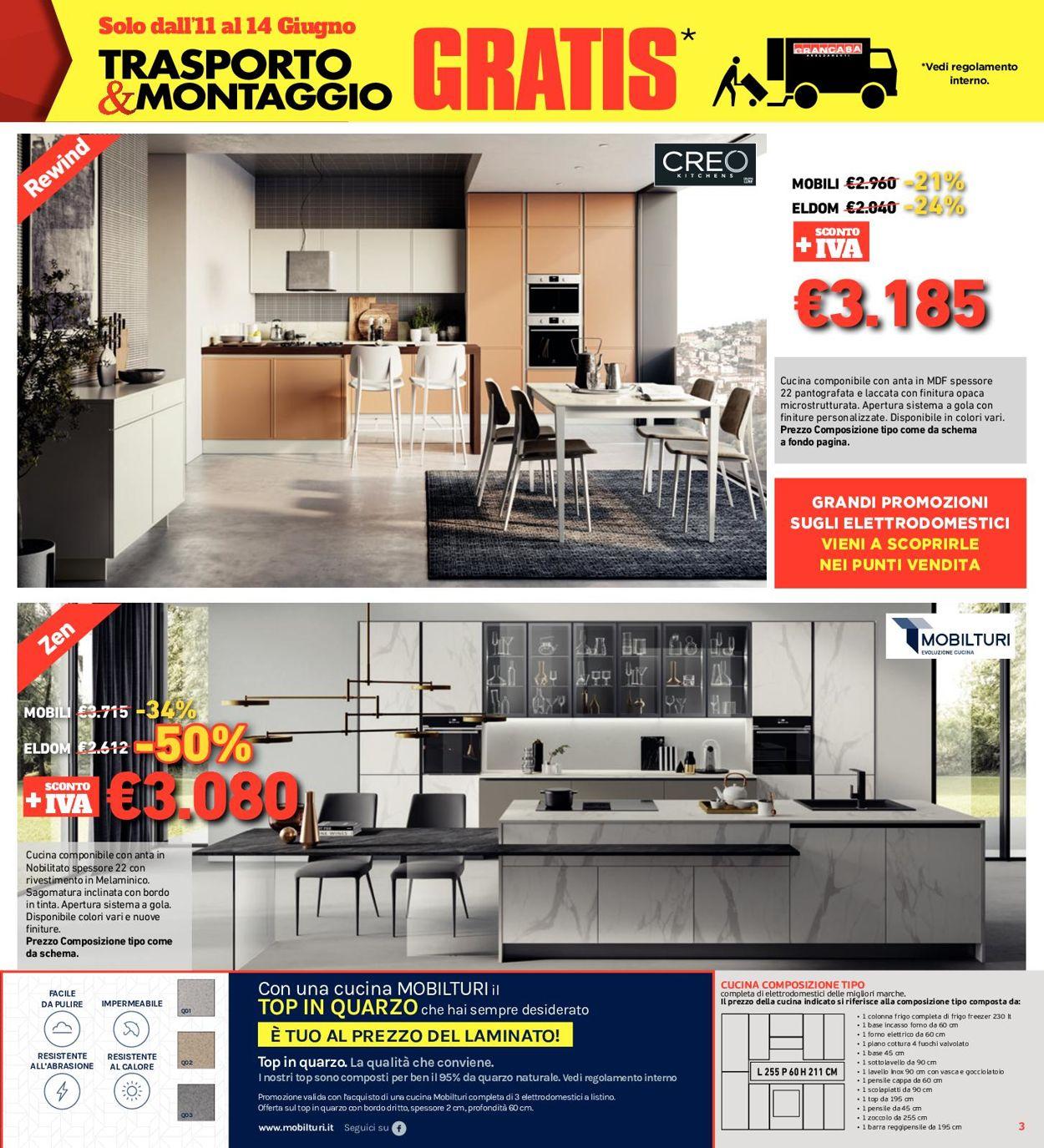 Volantino Grancasa - Offerte 11/06-05/07/2021 (Pagina 3)