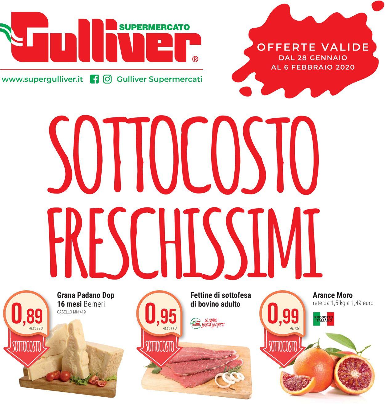 Volantino Gulliver - Offerte 28/01-06/02/2020