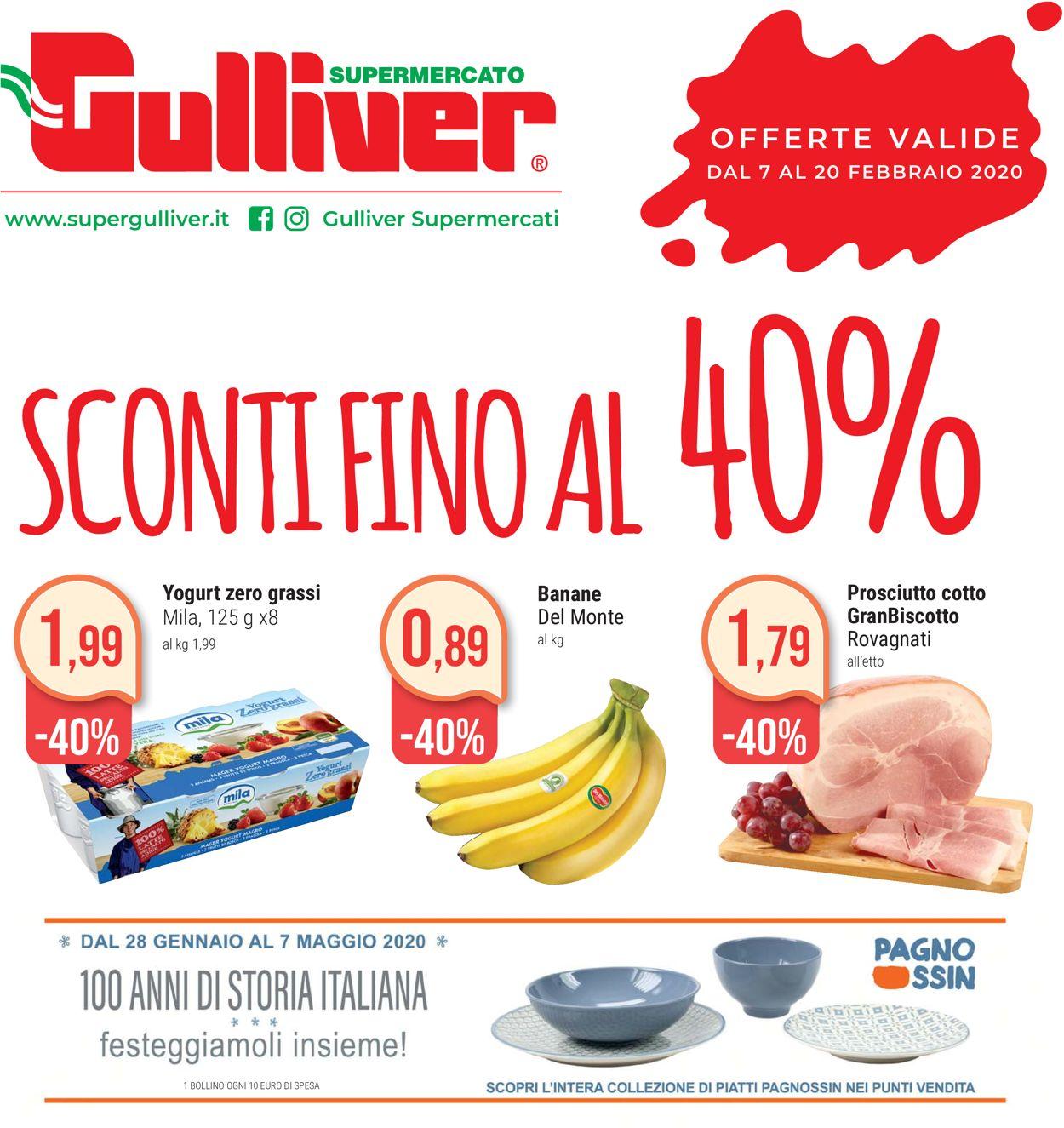 Volantino Gulliver - Offerte 02/02-20/02/2020