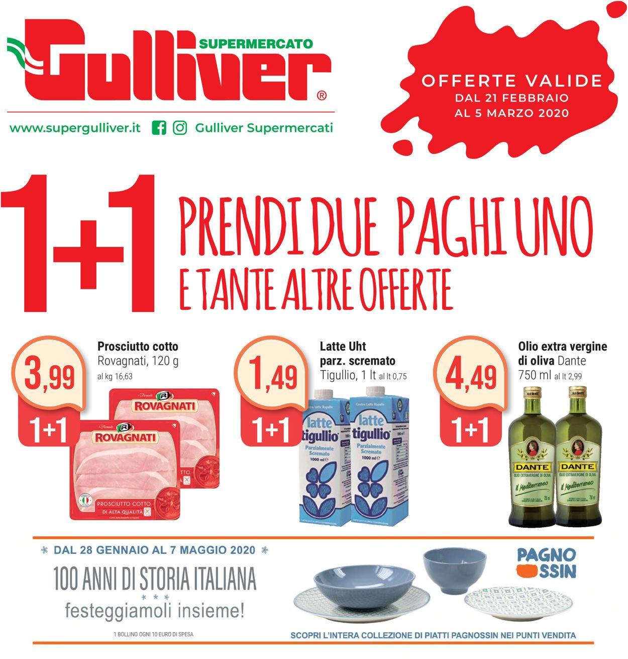 Volantino Gulliver - Offerte 21/02-05/03/2020