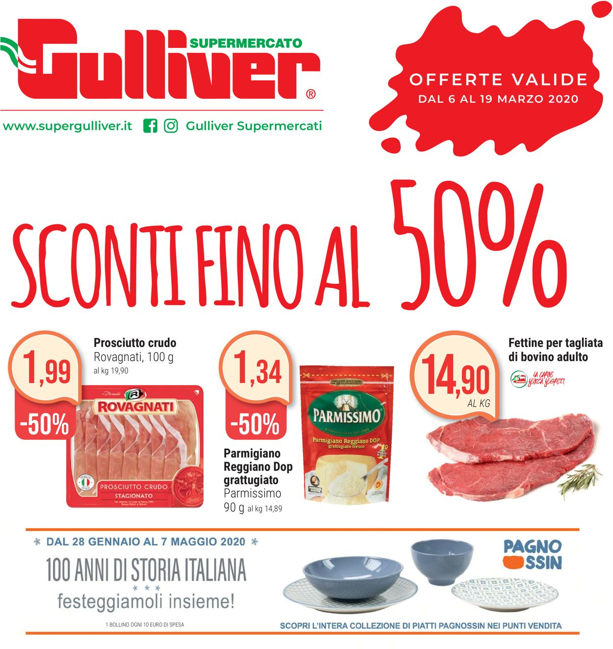 Volantino Gulliver - Offerte 06/03-19/03/2020