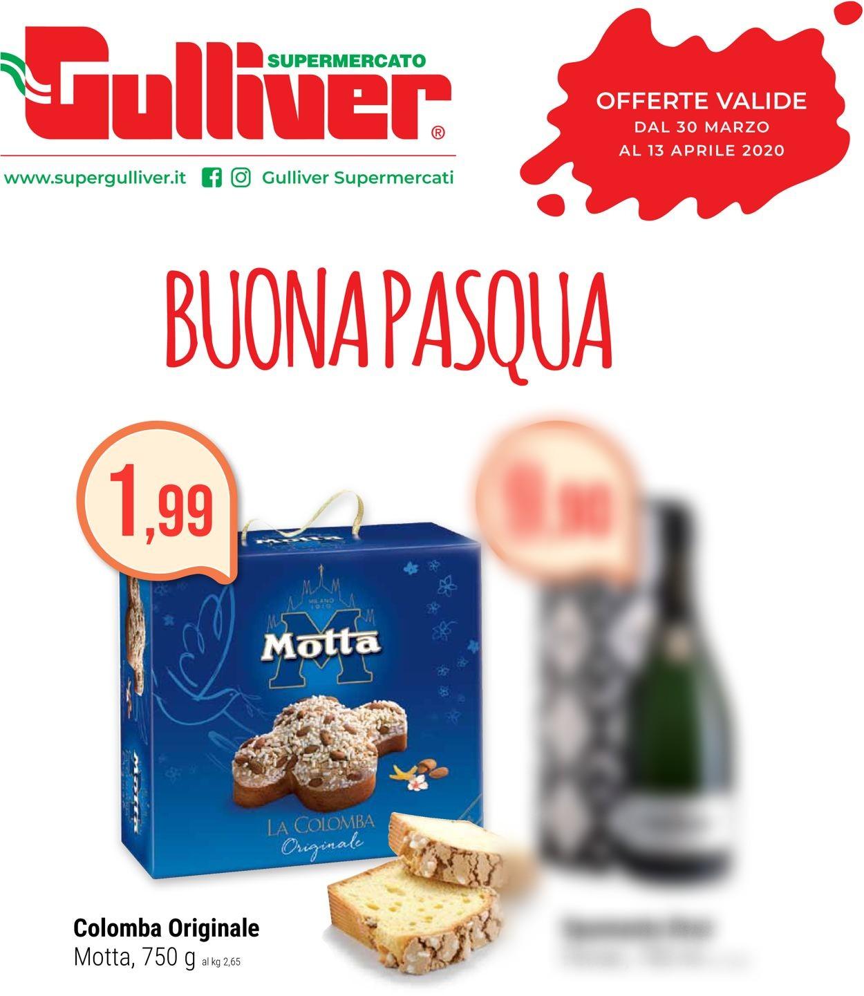 Volantino Gulliver - Offerte 30/03-13/04/2020