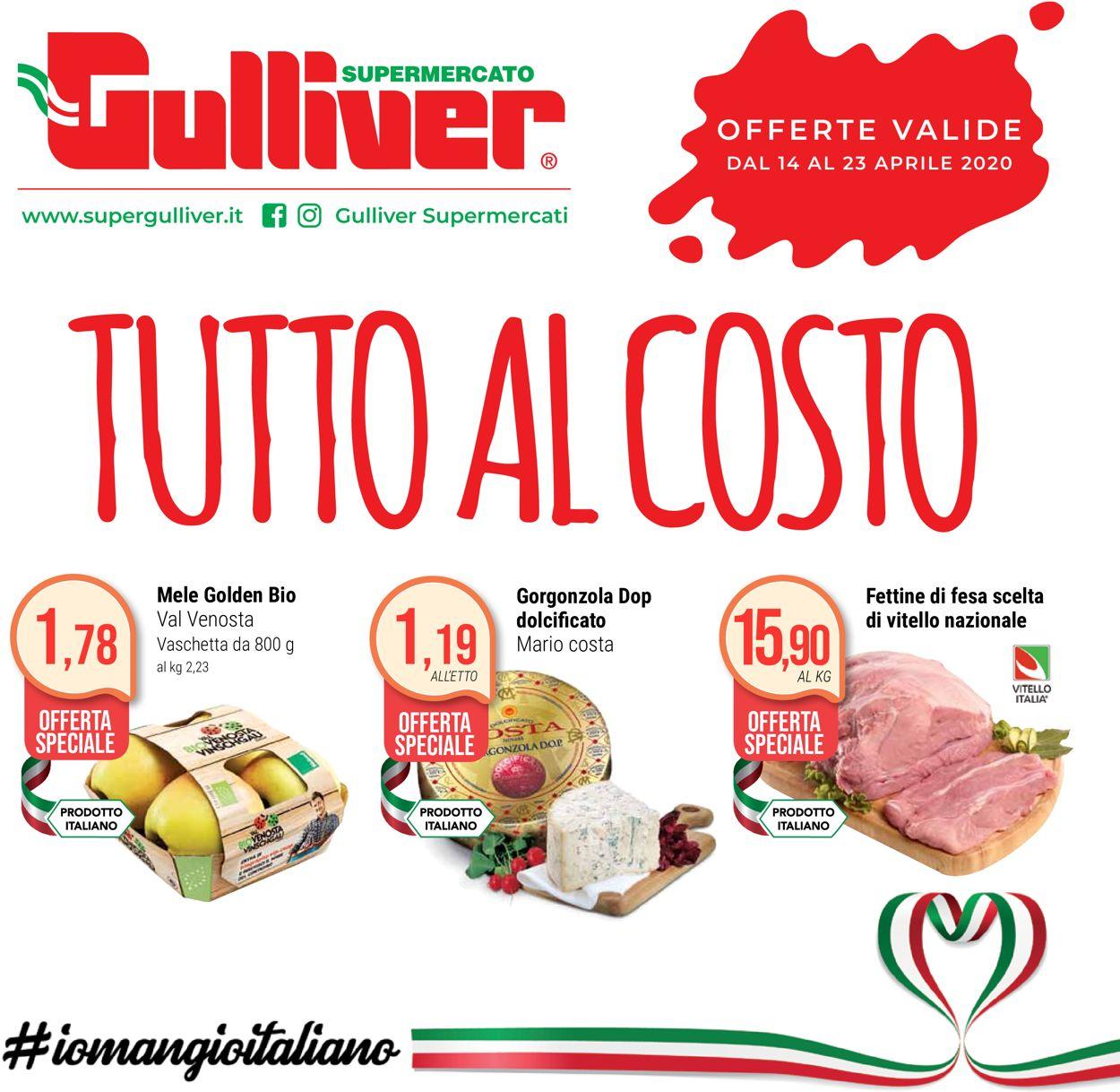 Volantino Gulliver - Offerte 14/04-23/04/2020