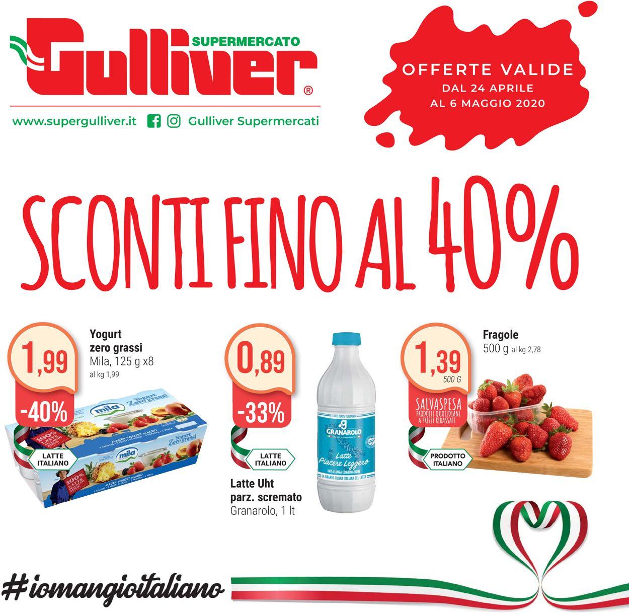 Volantino Gulliver - Offerte 24/04-06/05/2020