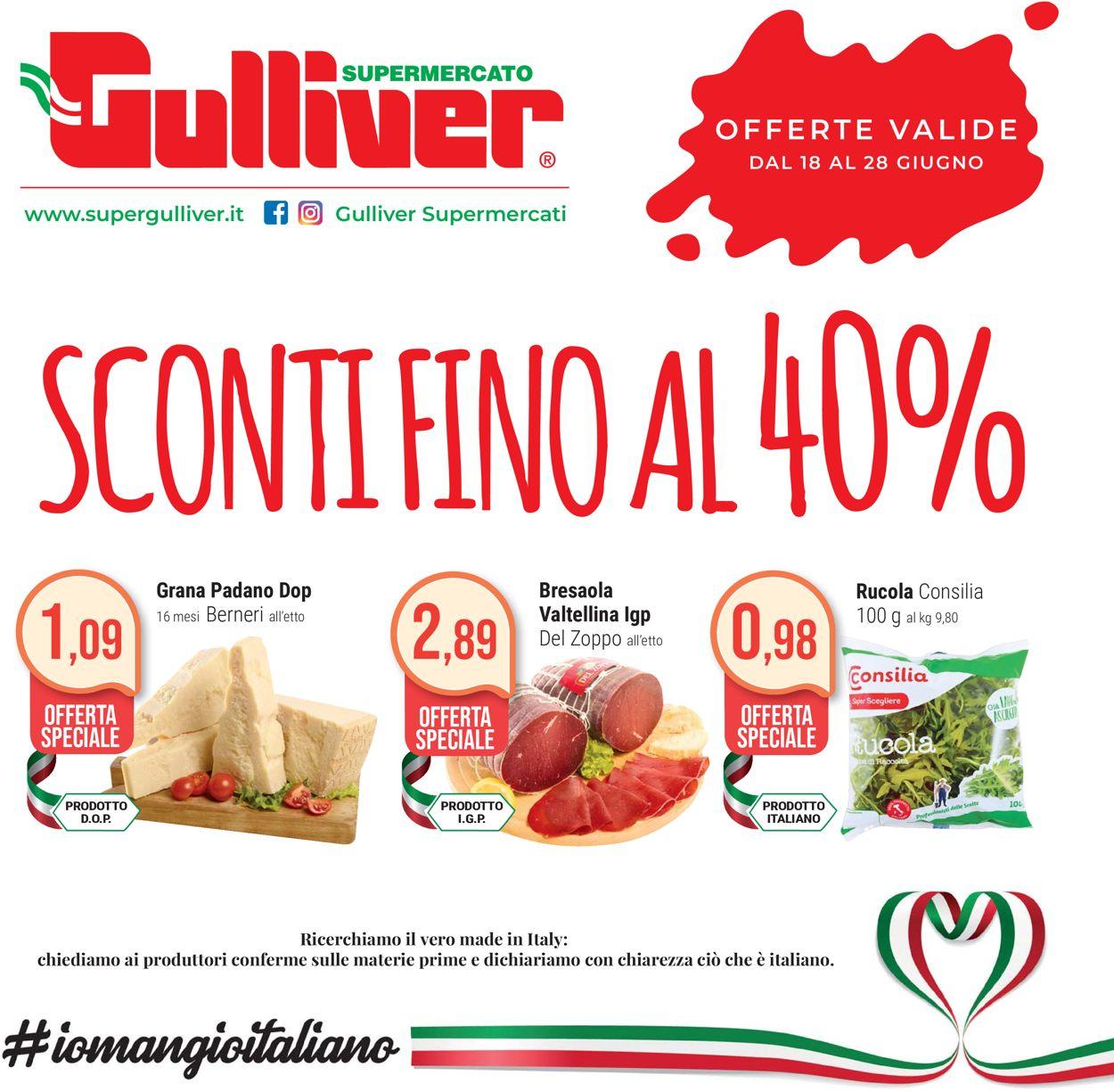 Volantino Gulliver - Offerte 18/06-28/06/2020