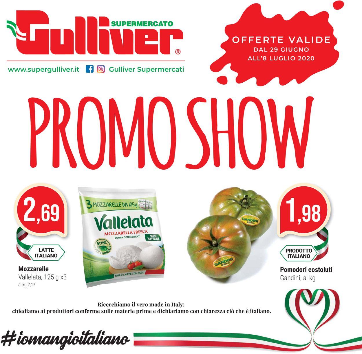 Volantino Gulliver - Offerte 29/06-08/07/2020
