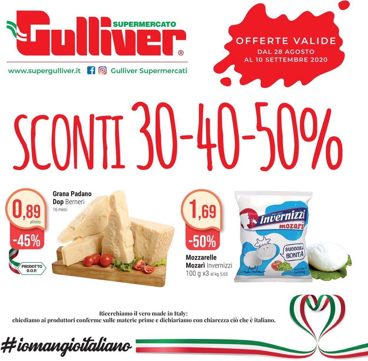 Volantino Gulliver - Offerte 28/08-10/09/2020
