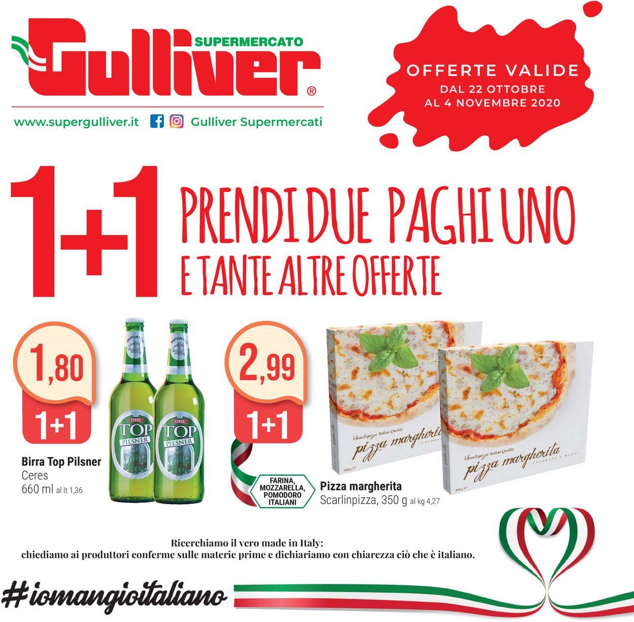 Volantino Gulliver - Offerte 22/10-04/11/2020
