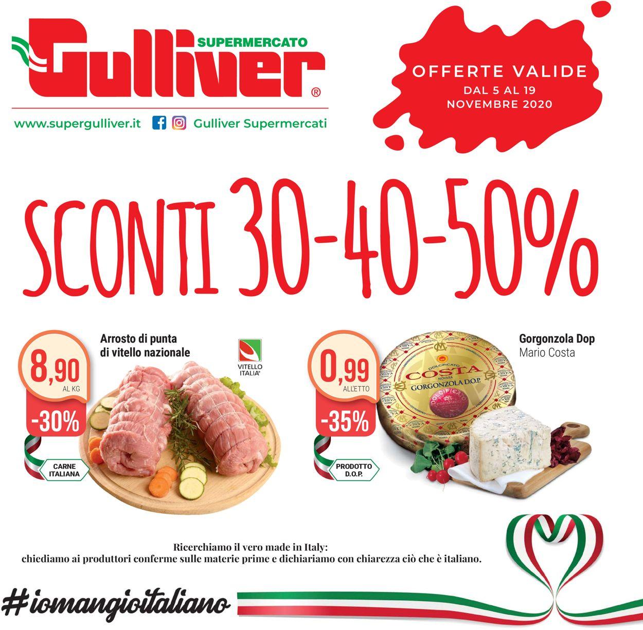 Volantino Gulliver - Offerte 05/11-19/11/2020