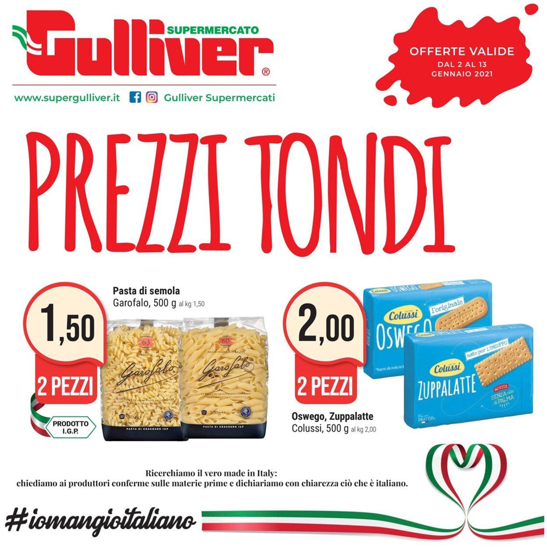 Volantino Gulliver - Offerte 02/01-13/01/2021