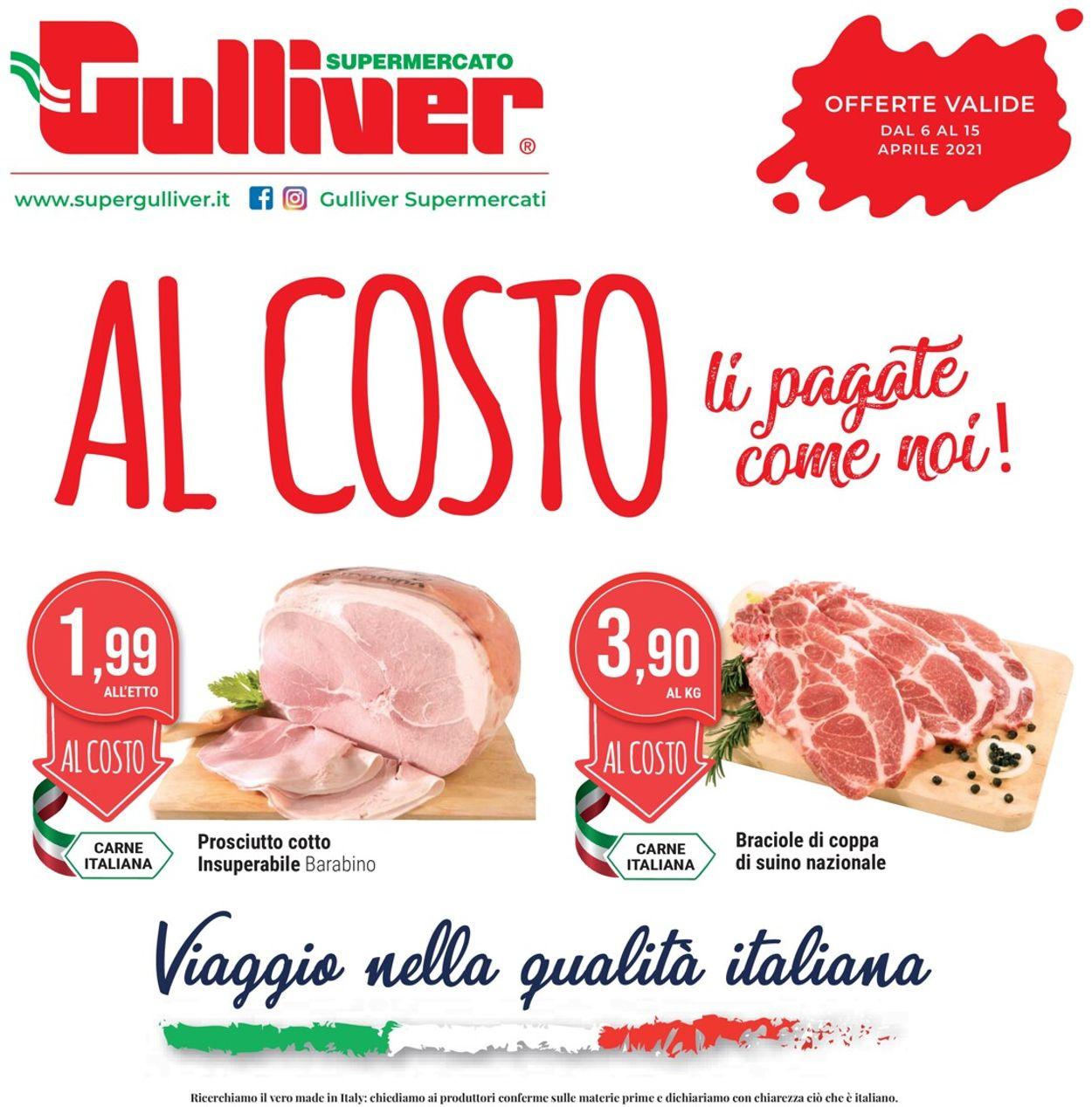 Volantino Gulliver - Offerte 06/04-15/04/2021