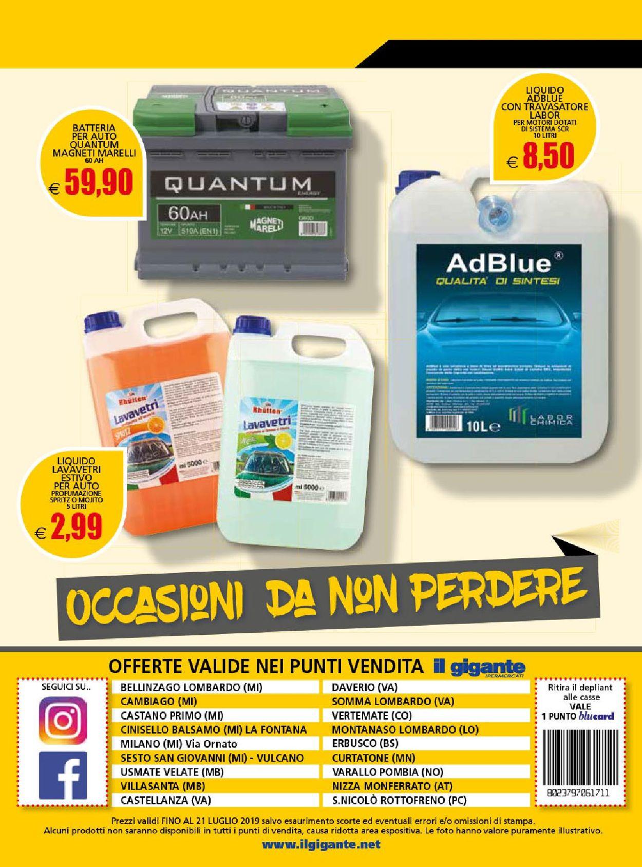 Volantino Il Gigante - Offerte 17/06-21/07/2019 (Pagina 12)